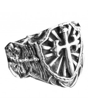 Bague argent symbol IR22