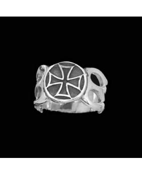 Bague gothique argent LER004