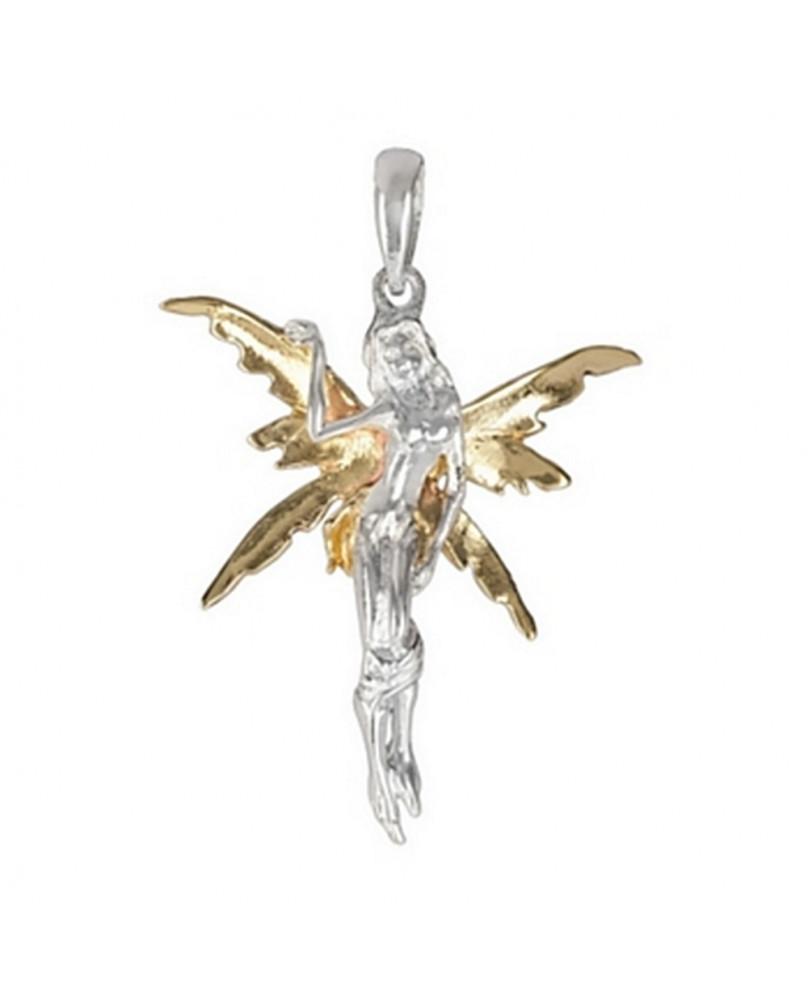 Pendentif angel en bronze