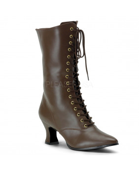 Funtasma VICTORIAN-120 bottines talons hauts marrons
