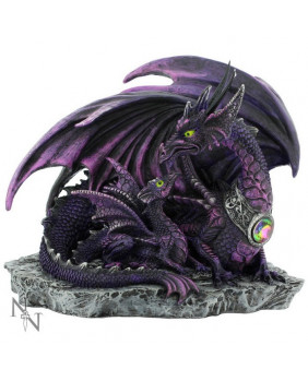 Figurine dragons violets New Beginnings