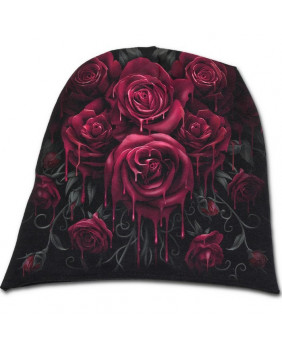 Bonnet gothique Blood Rose