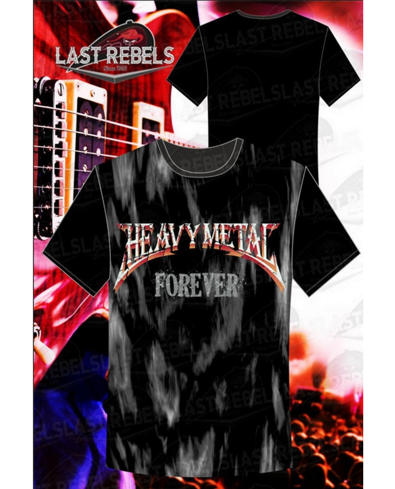 T-Shirt homme Heavy Métal Forever