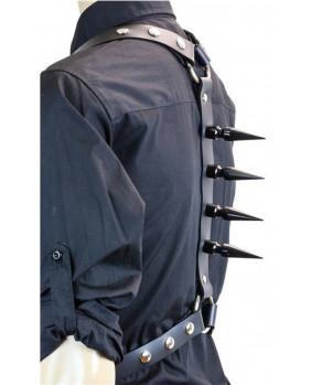 Harnais gothique grands pics noirs