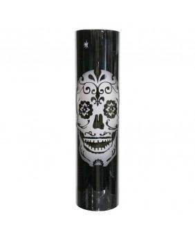 Vase gothique noir Sugar Skull