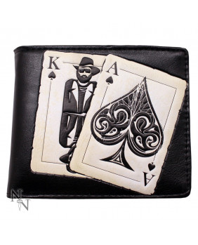 Portefeuille rockabilly Vegas Playing Cards