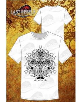T-Shirt celte blanc pour homme