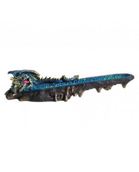 Porte encens dragon bleu Sea of Flames