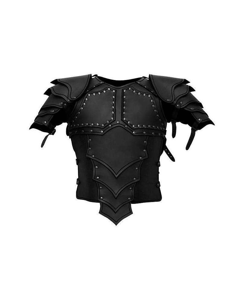Armure Dragon en cuir noir