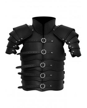 Armure Scout en cuir noir