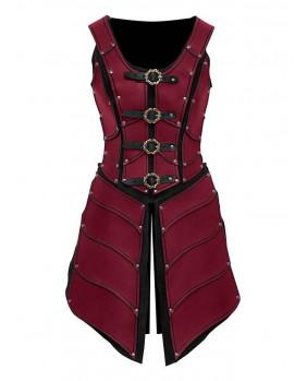 Armure Elfe cuir rouge Elven