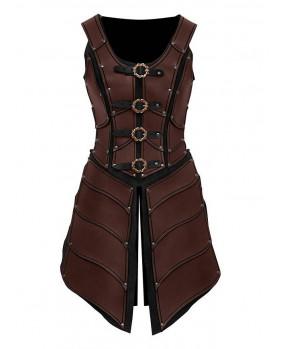 Armure Elfe cuir marron Elven