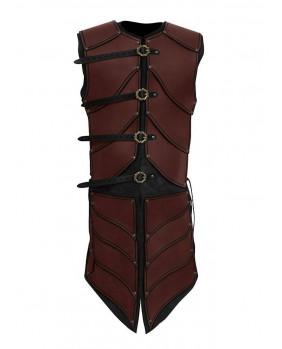 Armure cuir marron guerrier Elven