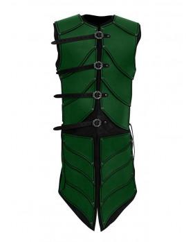 Armure cuir vert guerrier Elven