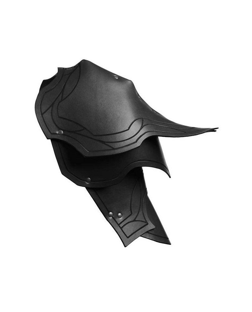 Epaulières Ranger en cuir noir
