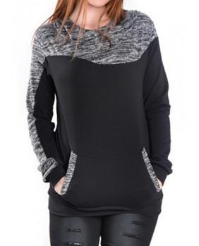 Sweat à capuche fashion pour femme
