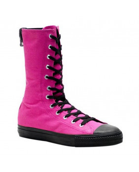 Sneakers bottes Demonia Deviant 201 rose