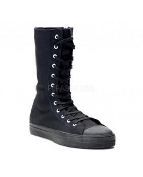 Sneakers bottes Demonia noires DEVIANT201BLK