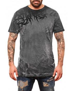 T-Shirt tattoo gris homme
