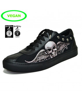 Sneakers basses noires Rock Steelground ST-S3-Z329.Z346