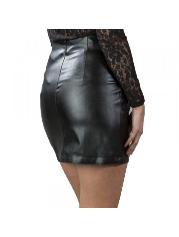 mini jupe fashion rock imitation cuir kylie. Black Bedroom Furniture Sets. Home Design Ideas