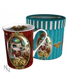 Mug steampunk Clockwork Dragonling