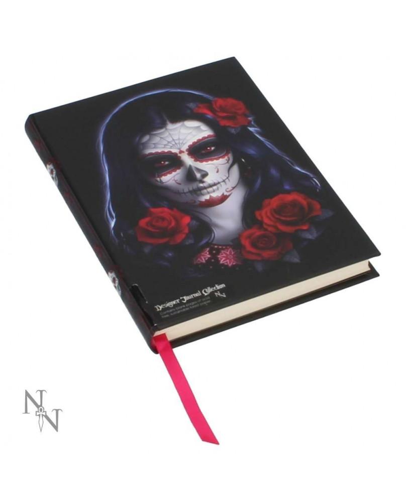 Journal intime gothique Sugar Skull
