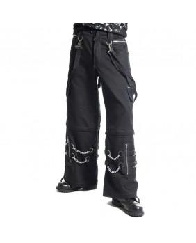 Pantalon gothique avec chaînes