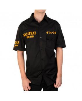 Chemise noire Alcatraz