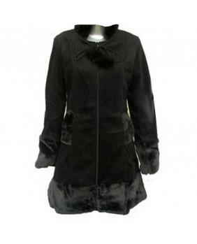 Manteau gothique noir Ivy