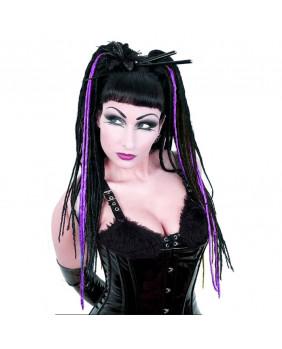 Rajout gothic Vicious dread violet