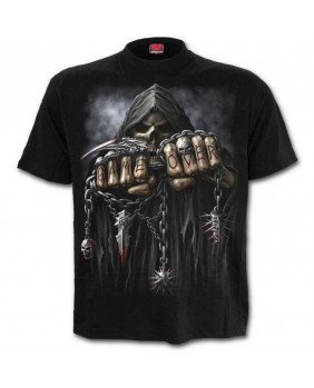 Tee shirt métal rock Game Over