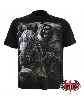 Tee shirt métal rock Death Rider