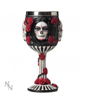 Gobelet gothique Sugar Skull