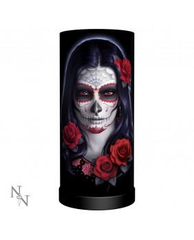 Lampe gothique Sugar Skull