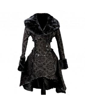 Manteau gothique victorien Black Queen