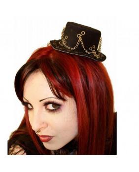 Chapeau mini steampunk