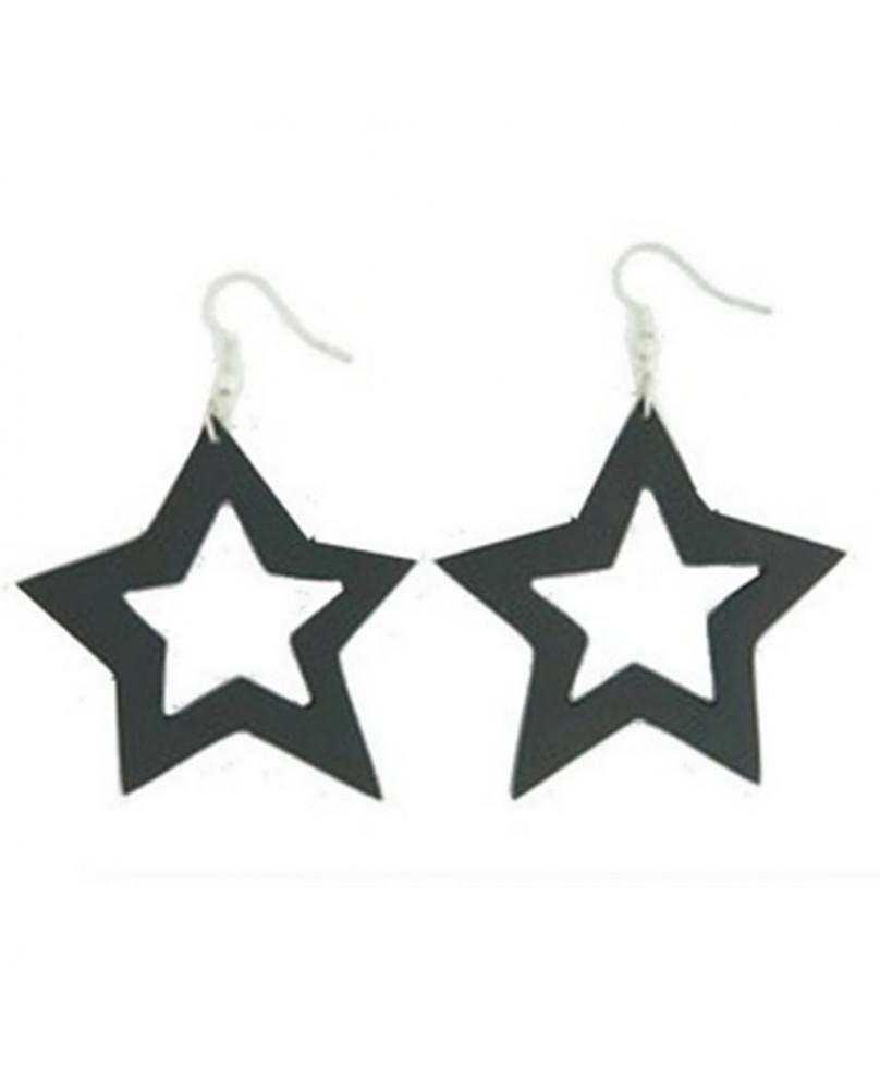Boucles d'oreilles Dark Star