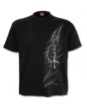 Tee Shirt gothique Tribal Chain
