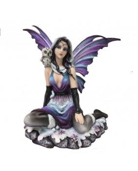 Figurine fée gothique Leanna