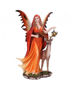 Figurine fée Esprit d'Automne