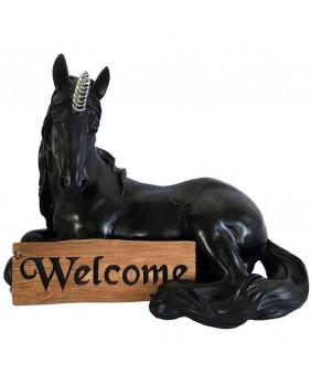 Licorne noire de Bienvenue