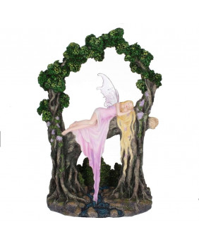 Figurine fée romantique Rockabye