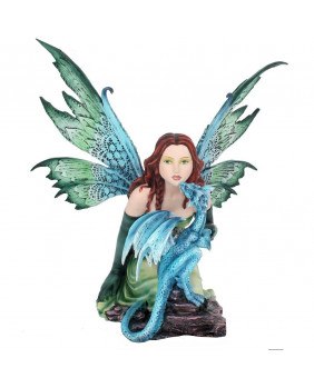 Figurine fée et dragon Dragon Whisper