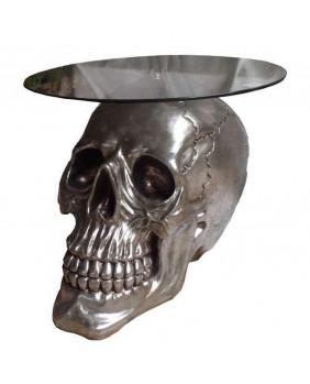 Table gothique tête de mort