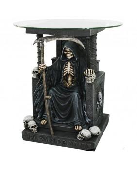 Table gothique de la mort