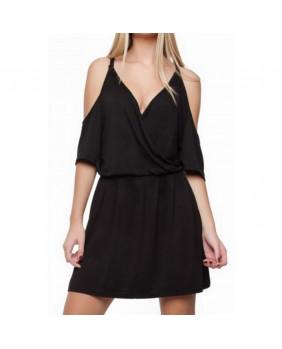Robe courte sexy noire