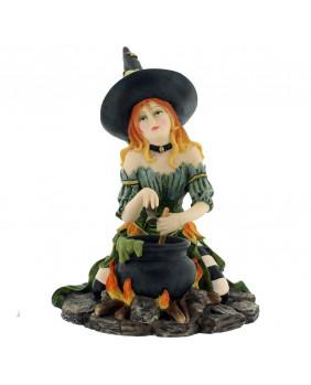 Figurine sorcière Harlequin