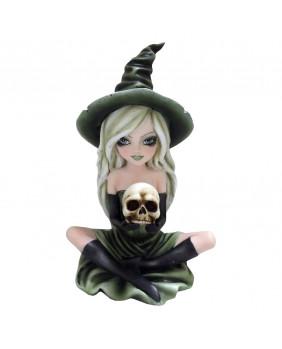 Figurine sorcière gothique Zelda