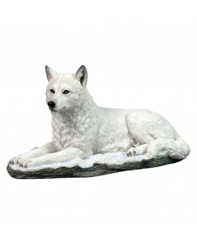 Figurine loup White Shadow